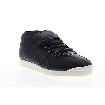 Onitsuka Tiger Schanze 72  Mens Black Leather Lifestyle Sneakers Shoes