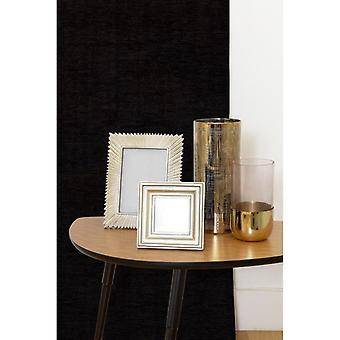 McAlister têxteis planície chenille cortinas pretas