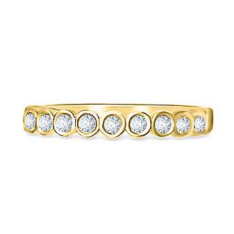 Ring IRIS Diamonds and 18K Gold