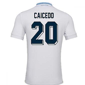 2018-19 Lazio Away Football Shirt (Caicedo 20)