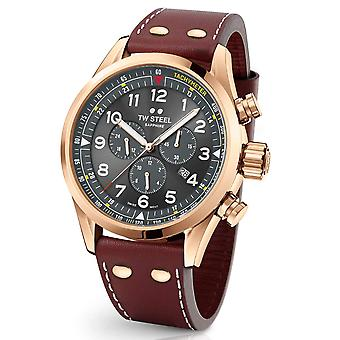 TW Steel Swiss Volante SVS203 chronograph watch 48mm