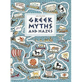Greek Myths and Mazes by Jan Bajtlik - 9781406387971 Book