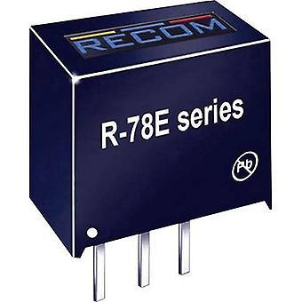 RECOM R-78E5.0-1.0 DC/DC converter (print) 5 V 1000 mA 5 W Nr. av utgångar: 1 x