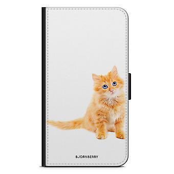 Bjornberry Case Samsung Galaxy S8 Plus - Petit Chat Brun