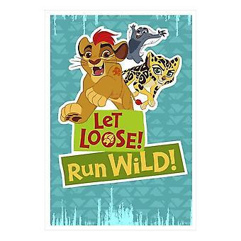 Hallmark Disney The Lion Guard Let Loose Run Wild Birthday Card 25470200