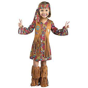 Hippie småbarn dräkt