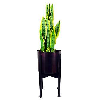 Mittlerer schwarzer Pflanzständer (Pflanzer nicht im Lieferumfang enthalten) 38.5cm x 18cm