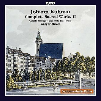 Kuhnau / Opella Musica / Lipsiensis / Meyer - Johann Kuhnau: Complete Sacred Works 2 [CD] USA import
