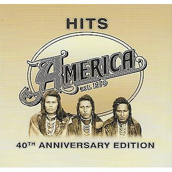 America - Hits - 40th Anniversary Edition [CD] USA import