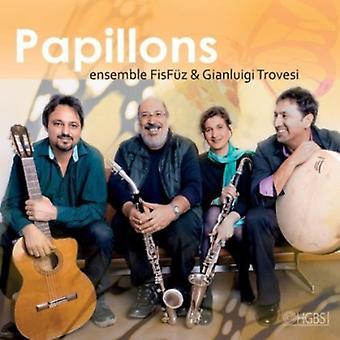 Trovesi & Ensemble Fisfuez, Gi - Papillons [CD] USA import