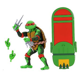 NECA TMNT Raphael Turtles In Time 7 Pouces Scale Action Figure