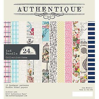 Authentique Dame 6x6 Inch Paper Pad