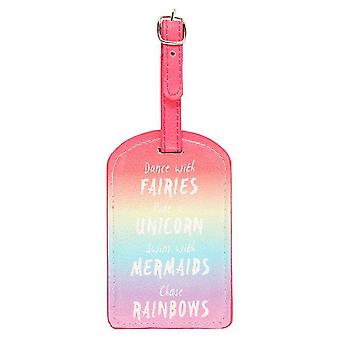 Something Different Rainbow Luggage Tag