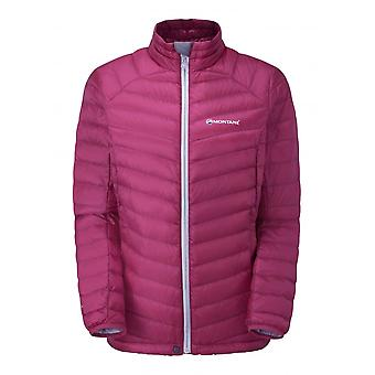 Montane Womens Featherlite Down Micro Jacket - UK 10 - French Berry