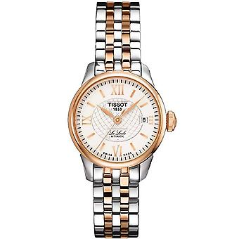 Tissot Watches T41.2.183.33 Le Locle Rose Gold And Stainless Steel Ladies Automatic Watch