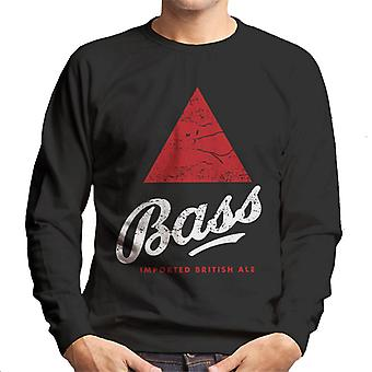 Bass Red Triangle Classic Logo Homme-apos;s Sweatshirt