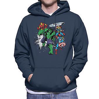 Marvel Avengers Punch Men's Kapuzen Sweatshirt
