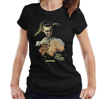 Hammer Dracula Dont Dare See It Alone Poster Women's T-Shirt