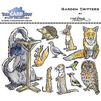 The Card Hut Garden Critters Clear Stamps