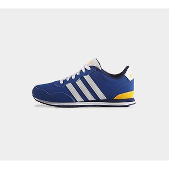 Adidas V Jog Kids Aw4835 Blue & White Shoes Boots