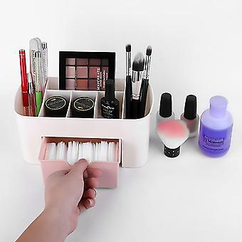 Grote capaciteit cosmetische opslag doos - Make-up Organisator box drawer for House - Mobiele telefoon Container