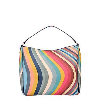 Paul Smith W1a5693cswirl90 Kvinnor's Multicolor Läder Tote