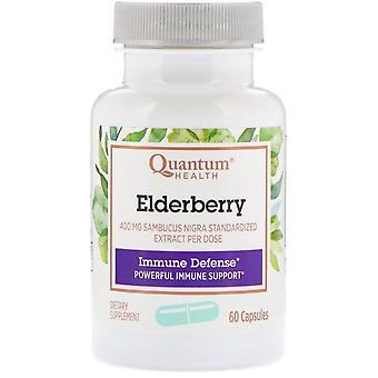 Quantum Health, Elderberry Immune Defense, 60 Capsules