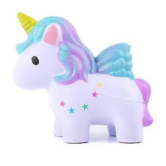 Unicornio Squishy, Slow Rising Soft Toy- Alivio del estrés