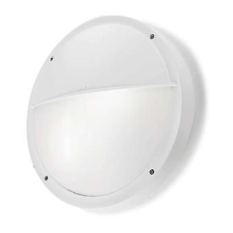Lysdioder-C4 Basic - Utomhus LED Flush Wall Light Basic White 30cm 1488lm 4000K IP65