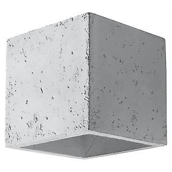 Sollux QUAD - 1 Light Wall Light Off White, G9