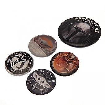 Star Wars Badge Set (Pack de 5)