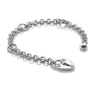 Hot Diamonds Love Lock Bracelet DL523