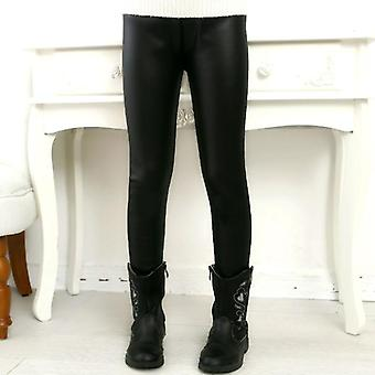 Children's Pants, Leggings Autumn Thin Models Pu Leather Popular Imitation