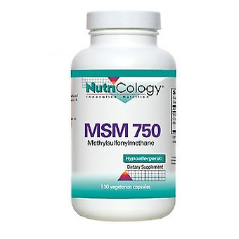 Nutricology/ Allergy Research Group MSM 750, 150 Veg Caps