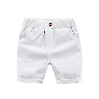 Pantalon casual pour enfants pour shorts bébé- shorts en coton d'été, bébé de couleur solide