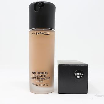 Mac Next To Nothing Face Colour Medium Deep 1.2oz/35ml New In Box