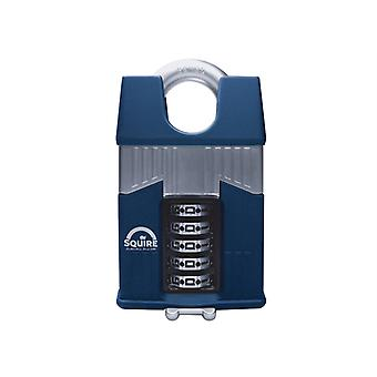 Henry Squire Warrior High-Security Closed Shackle Combination Padlock 65mm