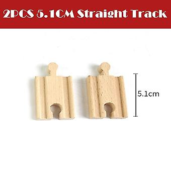 All Kinds Wooden Track Parts Beech Railway Train Track Toy Accessories