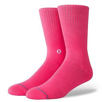 موقف أيقونة الجوارب - نيون الوردي