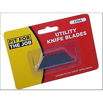 Rodo Fit for the Job Window Scraper Blades 3.5in X5 TKBR
