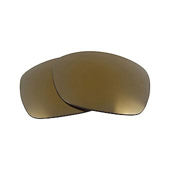Replacement Lenses for Oakley Sideways Sunglasses Anti-Scratch Gold Mirror