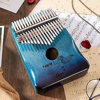 Peukalopiano Mahogany Puinen Mbira Musical Instrumentos Musicales 30 Key