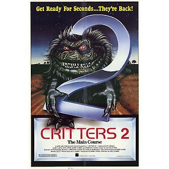 クリッター 2 メインコース映画ポスター (11 x 17)
