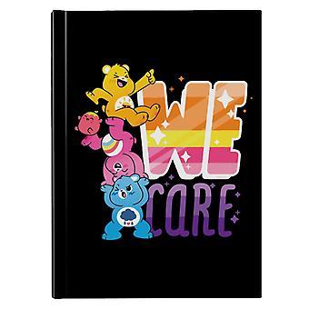 Care Bears Unlock The Magic We Care White Border Hardback Journal