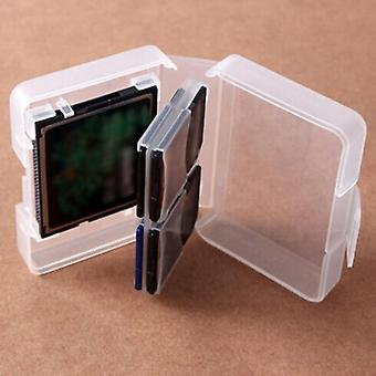 Memory Card Cases Cf Sd Card Cases Memory Box/pack Sd Mmc/sdhc Pro Duo Memory