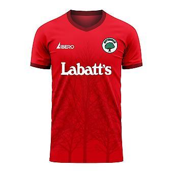 Nottingham 2020-2021 Home Concept Football Kit (Libero)