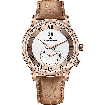 Claude Bernard - Wristwatch - Men - Jolie classique - 62007 37R ARR