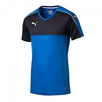 Puma الرجال دقة جيرسي كرة القدم الرياضة تي شيرت الأزرق 702214 02