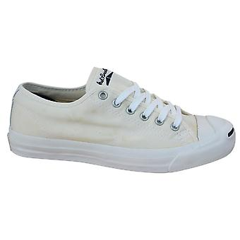 Converse Jack Purcell CP JP Lace Up Mens Trainers Off White Canvas 1K798 B15C