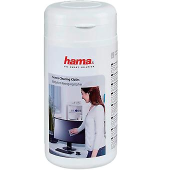 Hama Screen Cleaning Cloths 100 pcs in Dispenser Tub